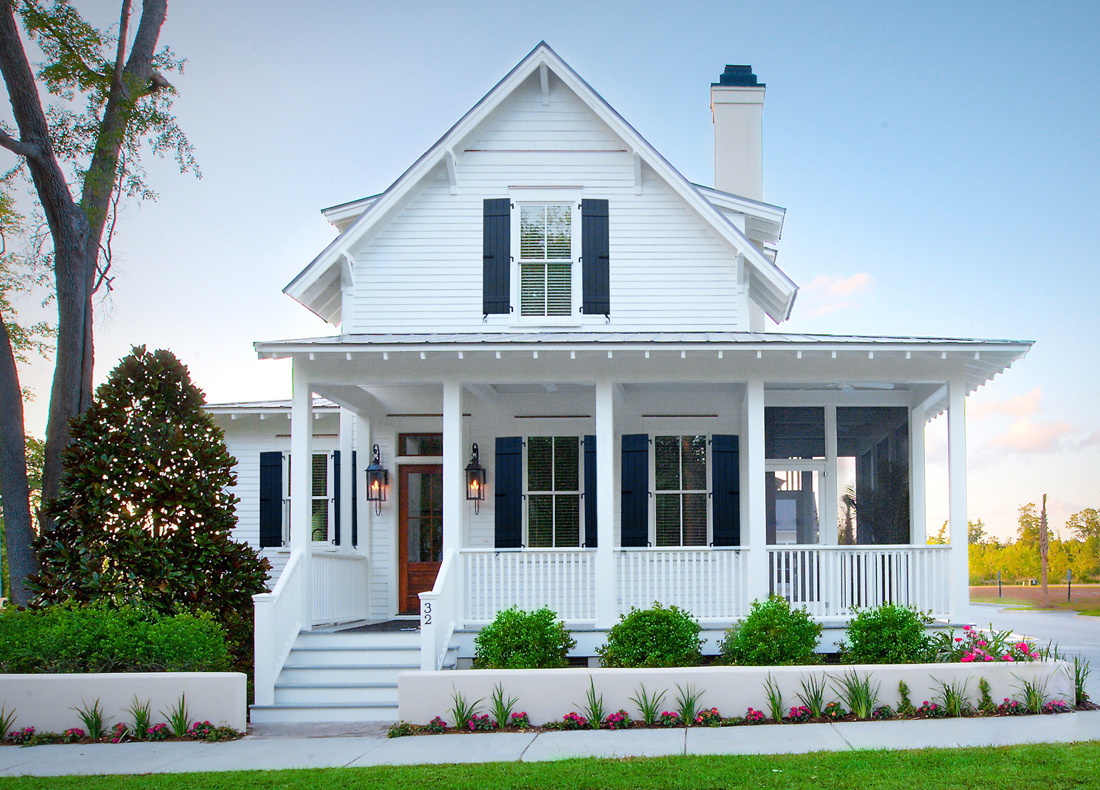 Watermark homes portfolio of custom homes beaufort sc for Coastal homes
